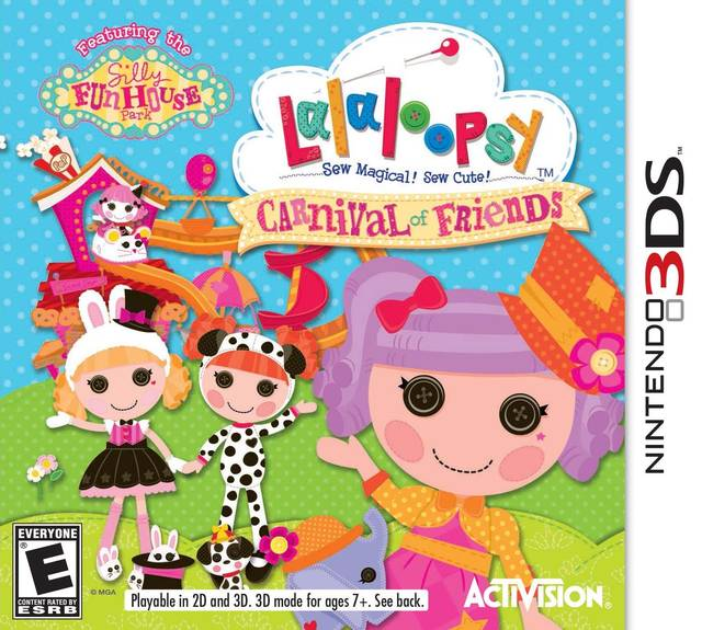 lalaloopsy carnival of friends 3ds game