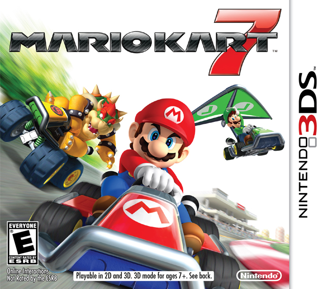mario kart 7 3ds game. Black Bedroom Furniture Sets. Home Design Ideas