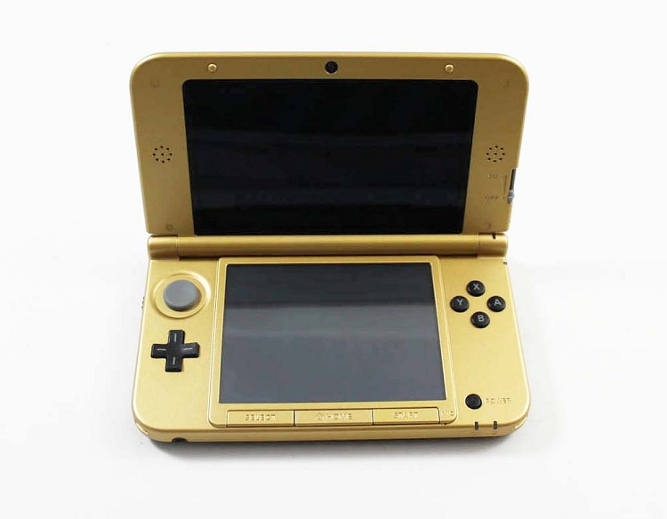 nintendo 3ds xl gold zelda edition system. Black Bedroom Furniture Sets. Home Design Ideas