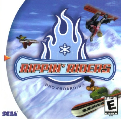 Rippin riders snowboarding dreamcast game