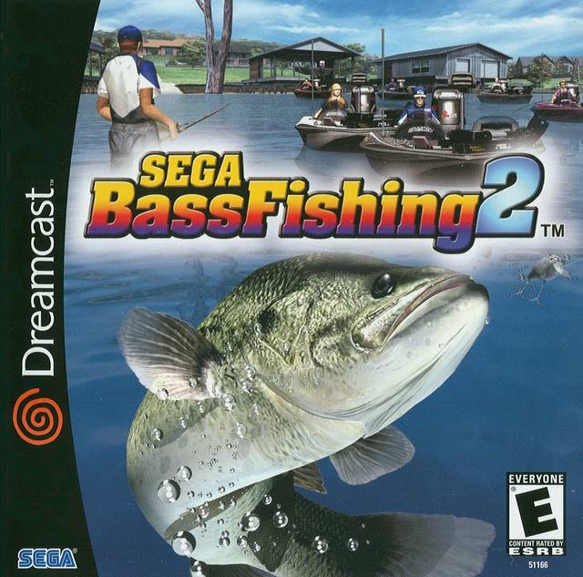 Sega bass fishing 2 dreamcast game