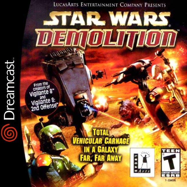 Star wars demolition dreamcast game
