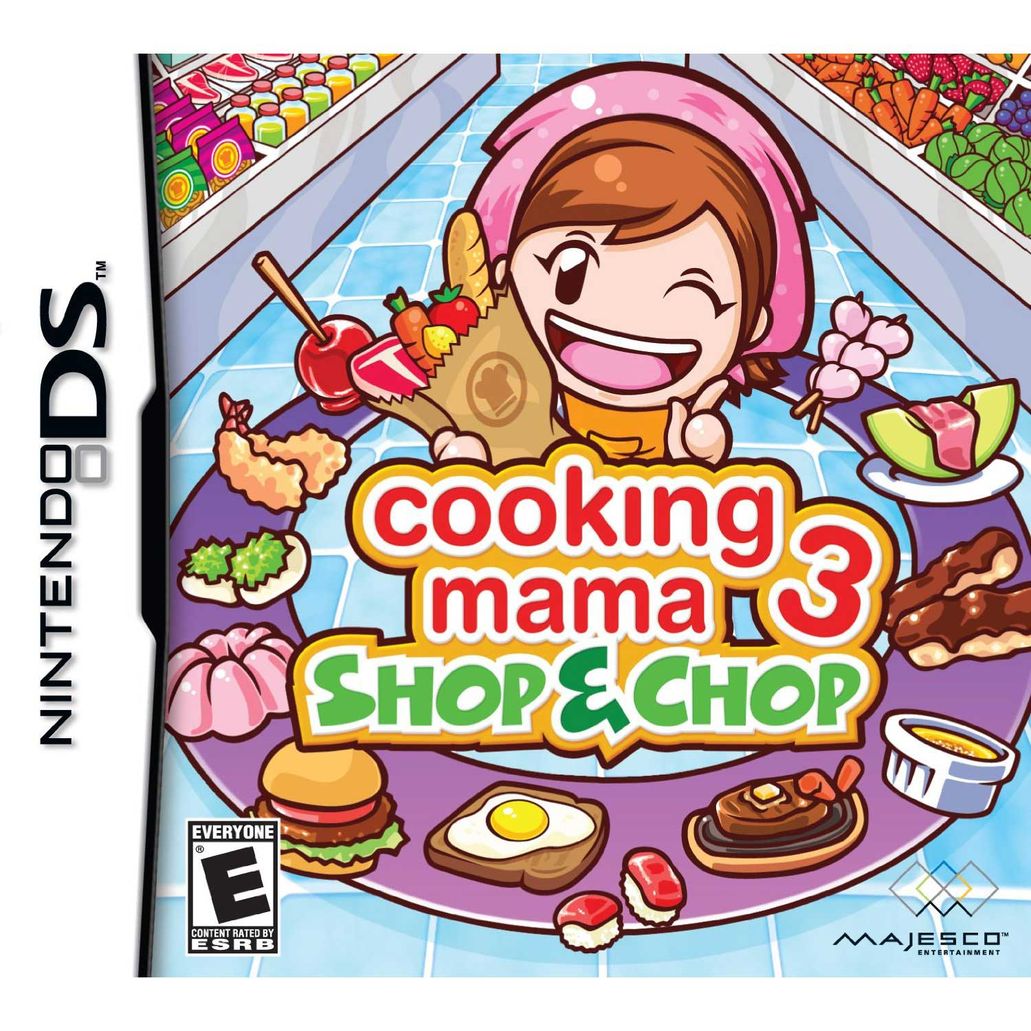 Cooking Mama 3: Shop & Chop DS Game