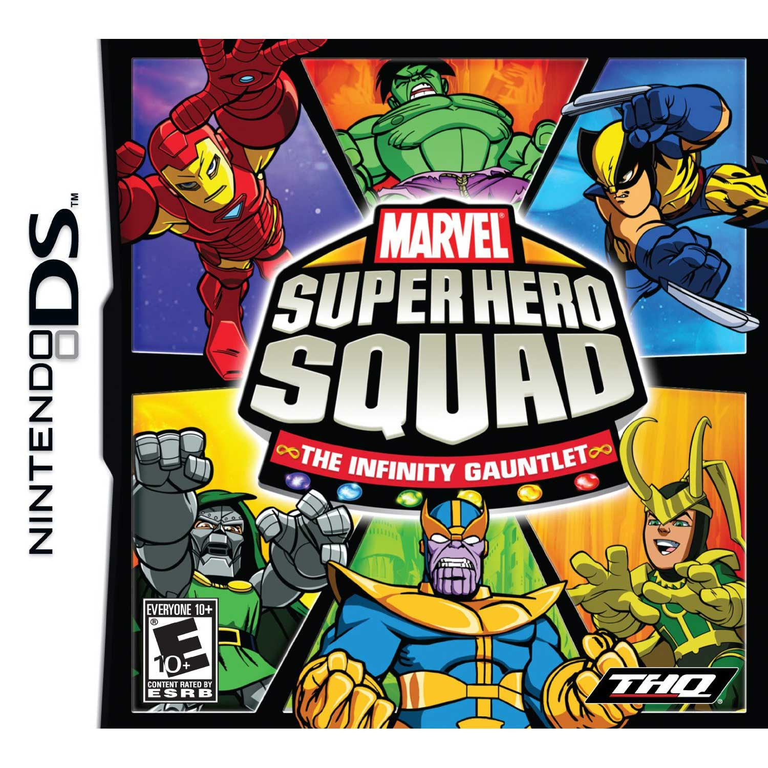 Marvel super hero squad the infinity gauntlet ds game