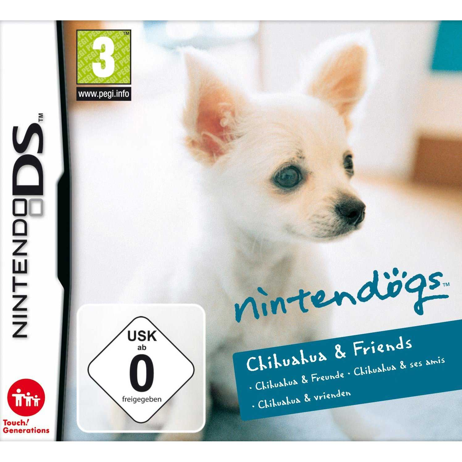 Nintendogs Chihuahua And Friends DS Game