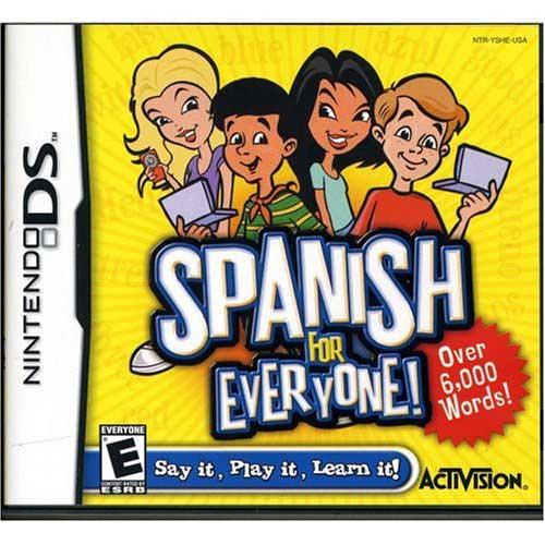 Spanish For Everyone DS Game