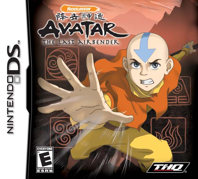 Avatar Games: Avatar The Last Airbender DS Game