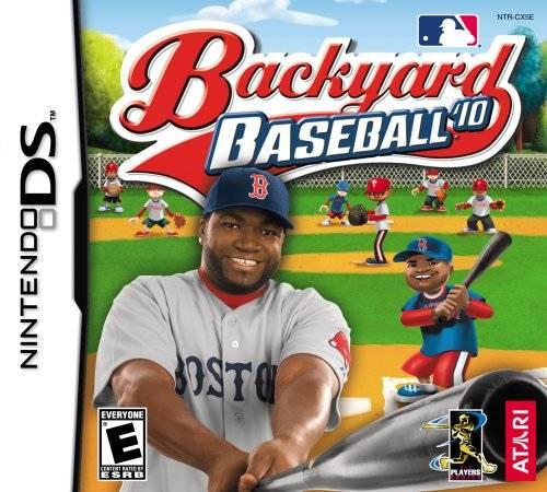 backyard baseball 39 10 ds game