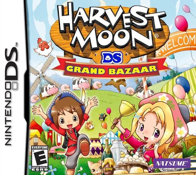 Harvest Moon DS: Grand Bazaar FAQs, Walkthroughs, and ...