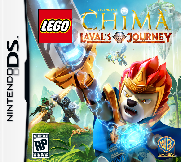 LEGO Legends of Chima Lavals Journey DS Game