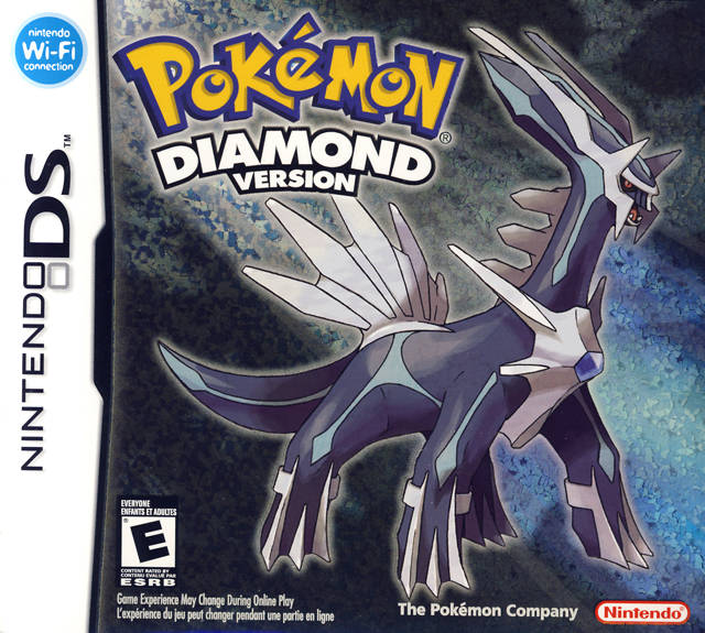 Pokemon Diamond Ds Game