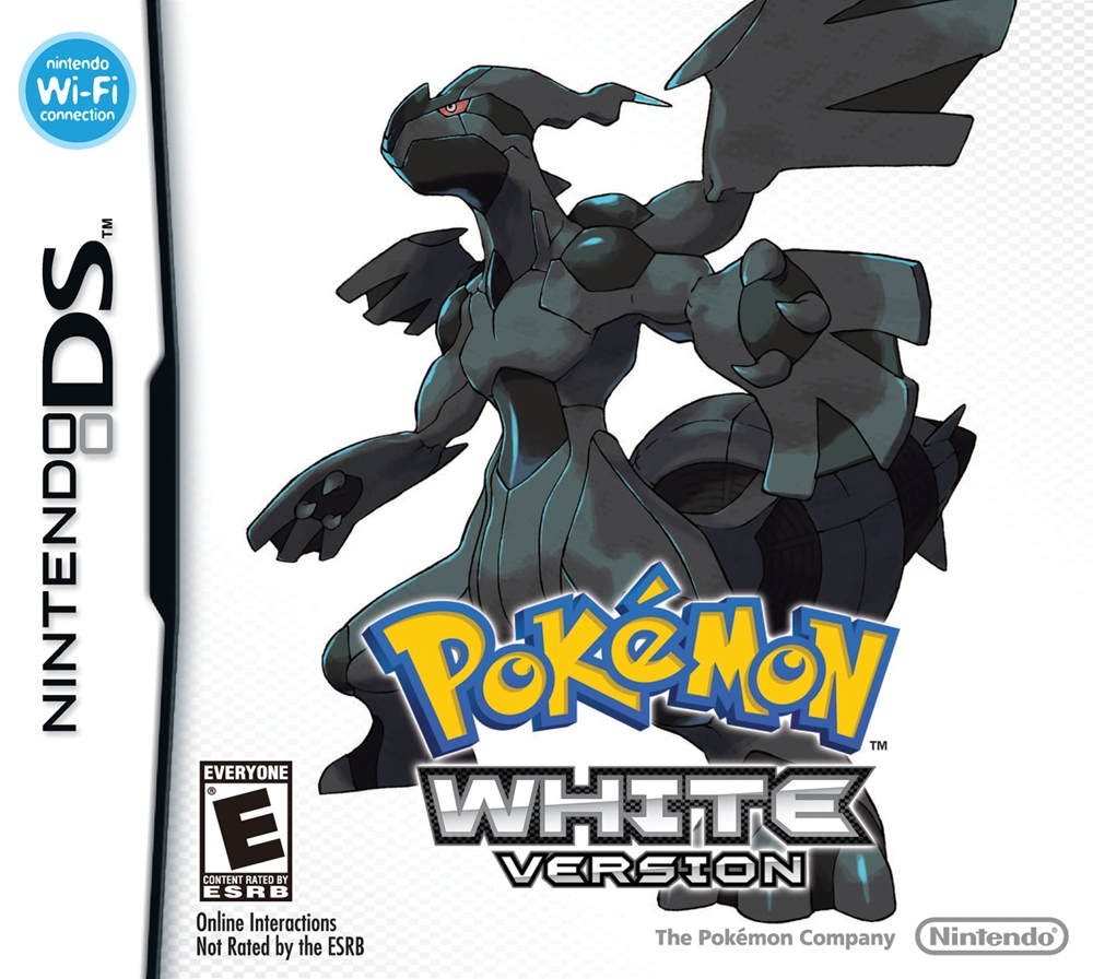 pokemon white ds game. Black Bedroom Furniture Sets. Home Design Ideas