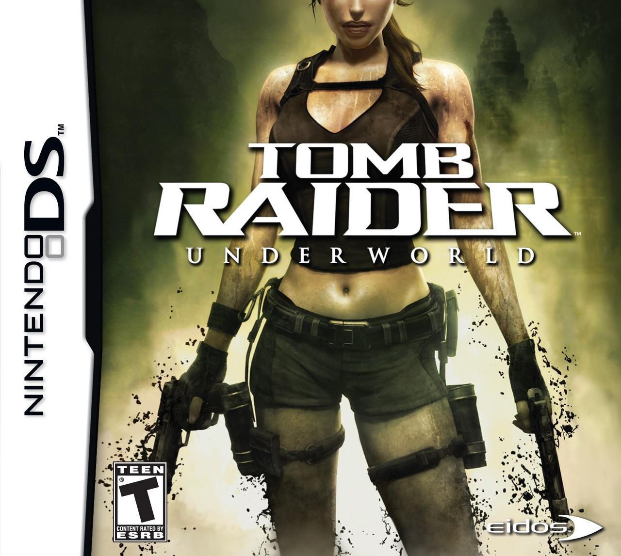 Tomb Raider Game: Tomb Raider Underworld DS Game