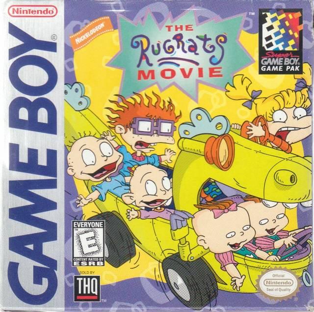 Rug Tas Dames : Rugrats the movie game boy
