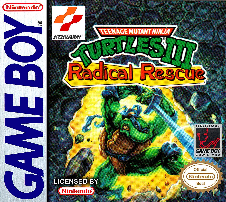 Teenage Mutant Ninja Turtles 3 Iii Game Boy