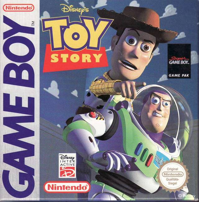 Case Of Toy Story Games : Toy story game boy