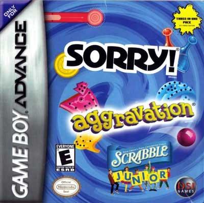 Aggravation/ Sorry/ Scrabble Jr