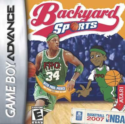 backyard basketball 2007 nintendo game boy advance gba