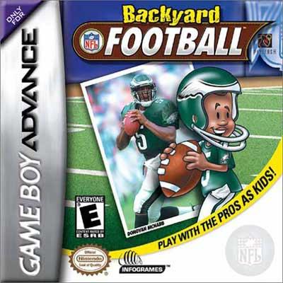 backyard football nintendo game boy advance gba