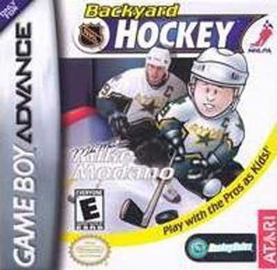 backyard hockey nintendo game boy advance gba