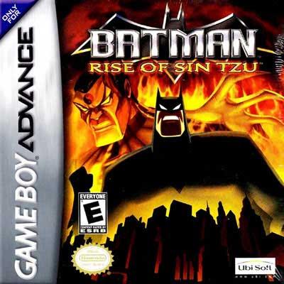 Gba Batman Rise Of Sin Tzu Box