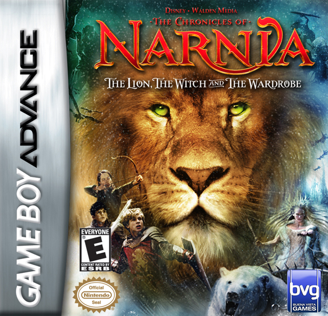 Original Lion Witch And The Wardrobe Movie: Chronicles Of Narnia Lion Witch And The Wardrobe Nintendo