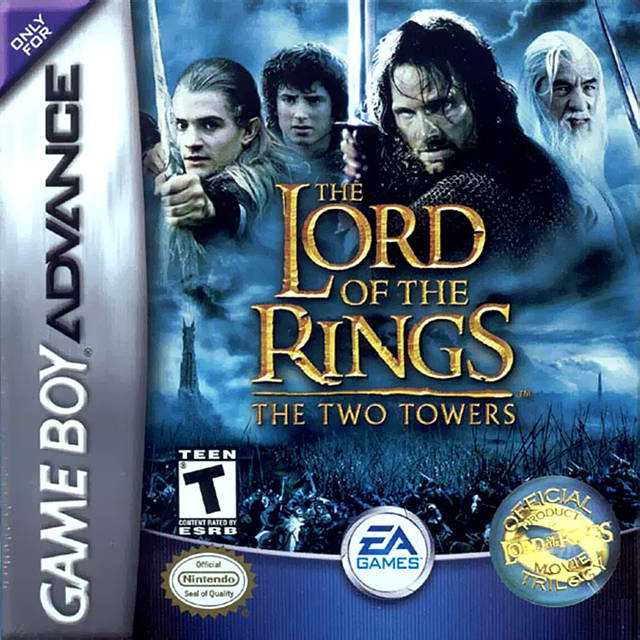Game Boy Advance Lord Of The Rings The Two Towers