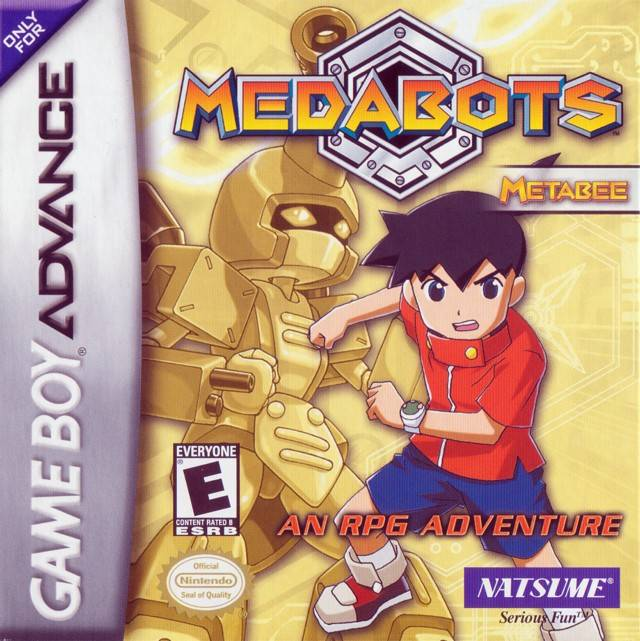 game boy advance medabots: