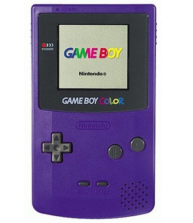 Grape Game Boy Color System Used For Gameboy Color