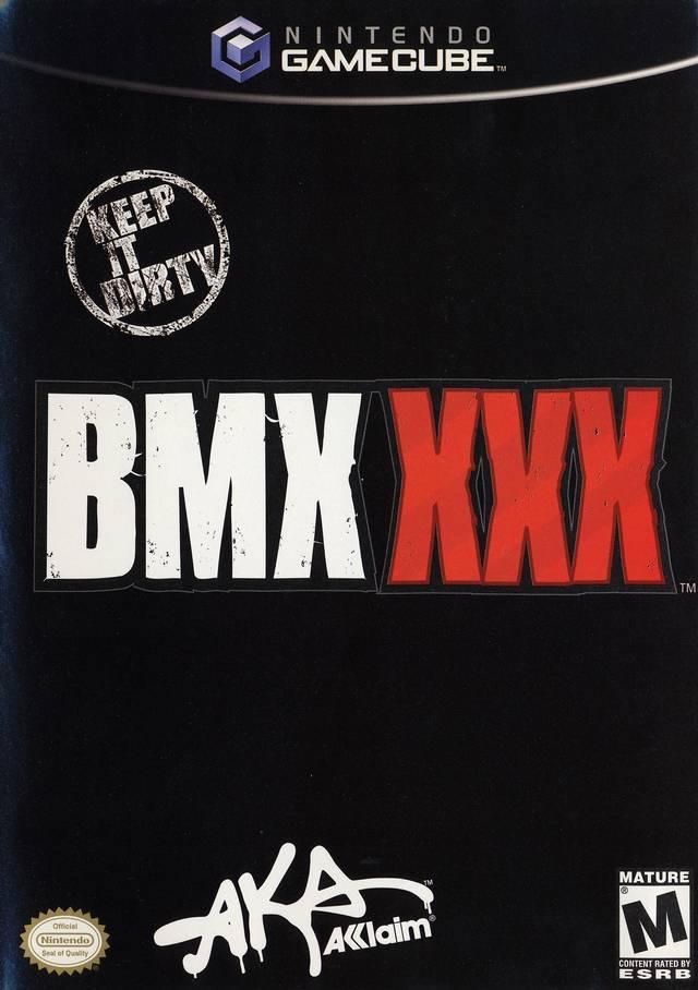 bmx xxx game cube