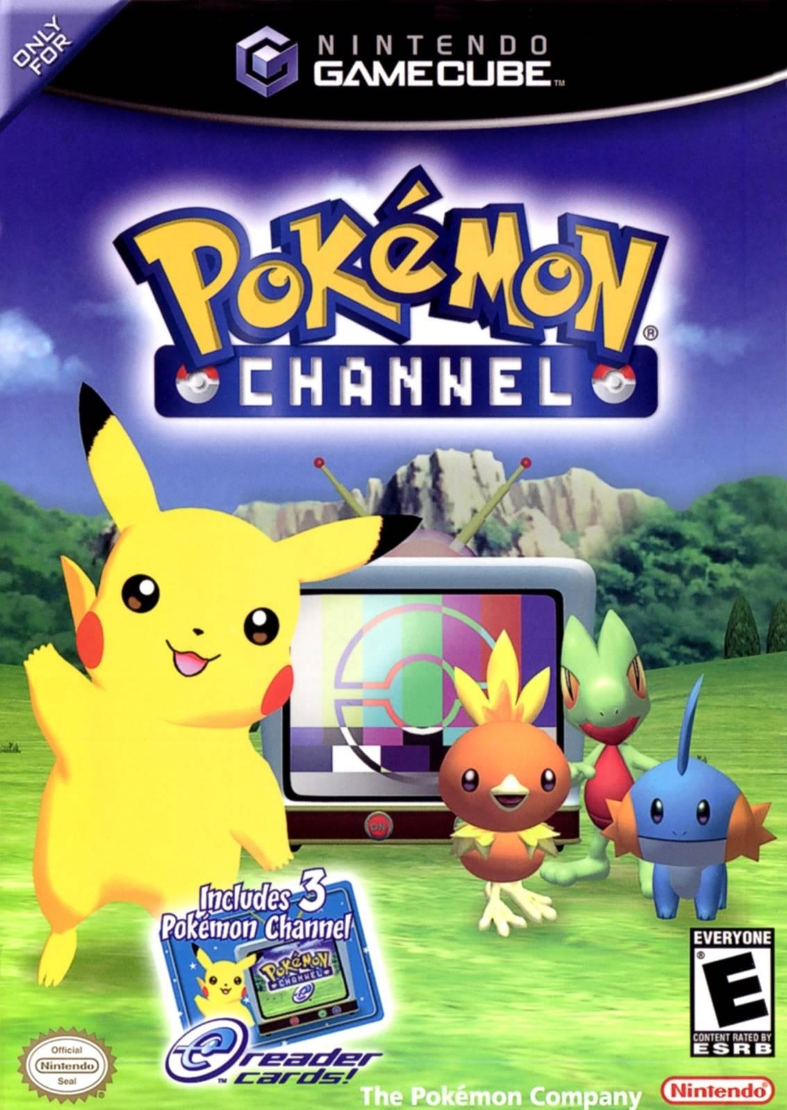 Pokemon Channel Gamecube Game