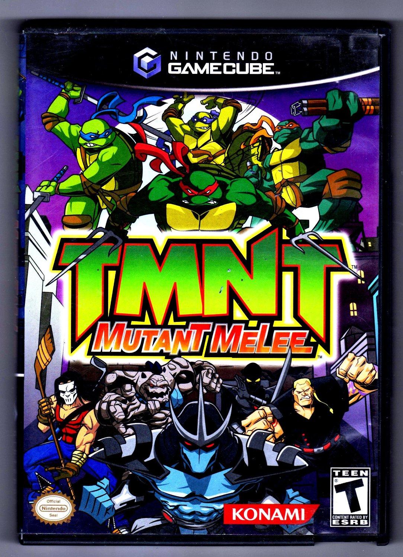 TMNT Mutant Melee Gamecube Game