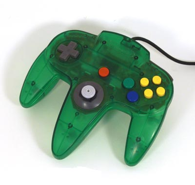 New junk?(last purchased topic) - Page 4 N64_Cont_JungGreen
