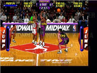 NBA Hang Time Nintendo 64 Game