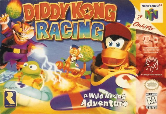 Diddy Kong Racing Nintendo 64 Game