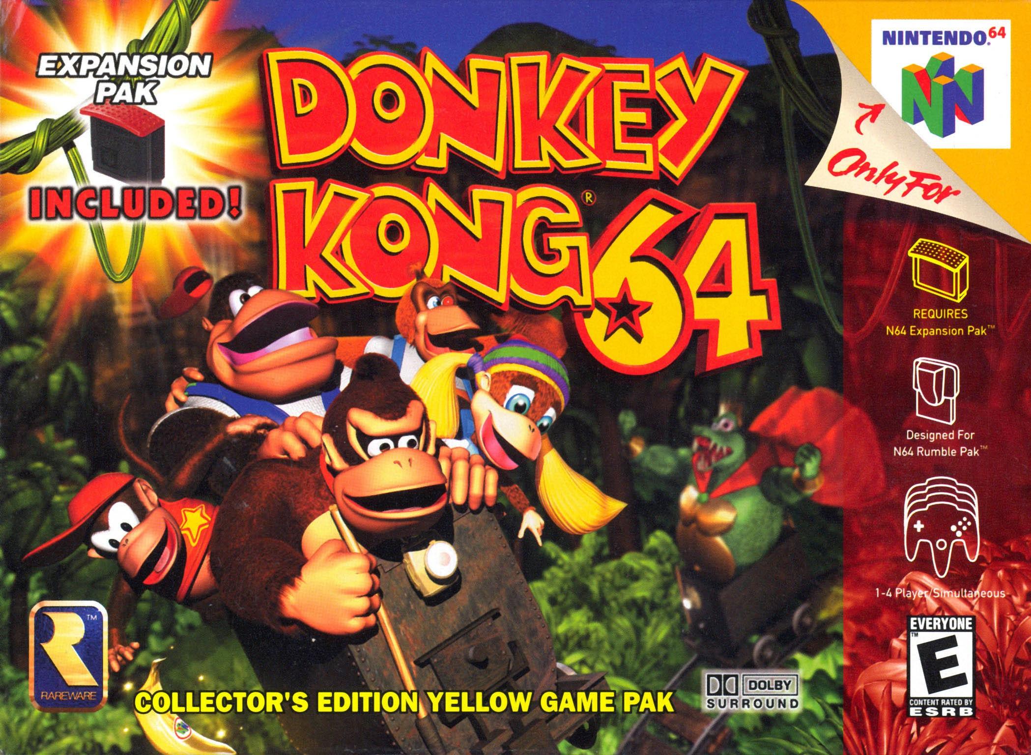 Donkey Kong Country Donkey Kong 64 ...
