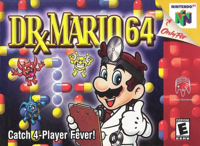Dr Mario 64 Nintendo 64 Game