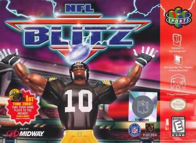Nfl Blitz Nintendo 64 Game