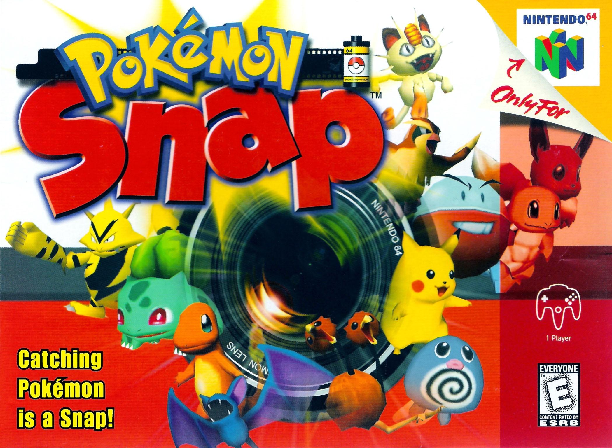 Pokemon Snap Nintendo 64 Game
