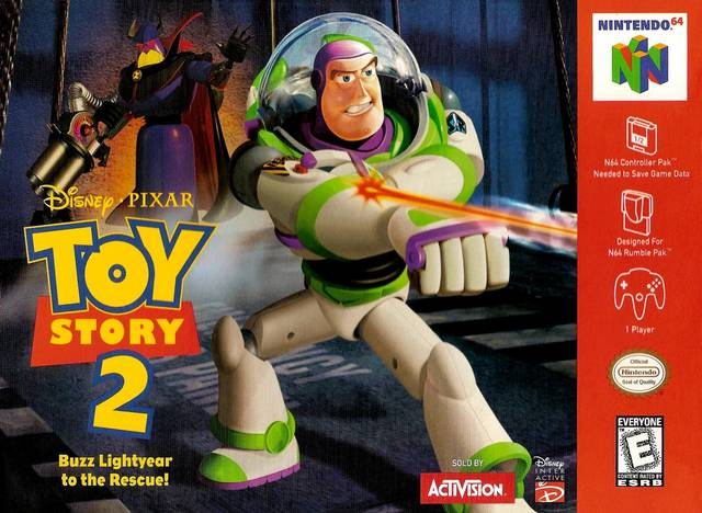 Case Of Toy Story Games : Toy story nintendo game