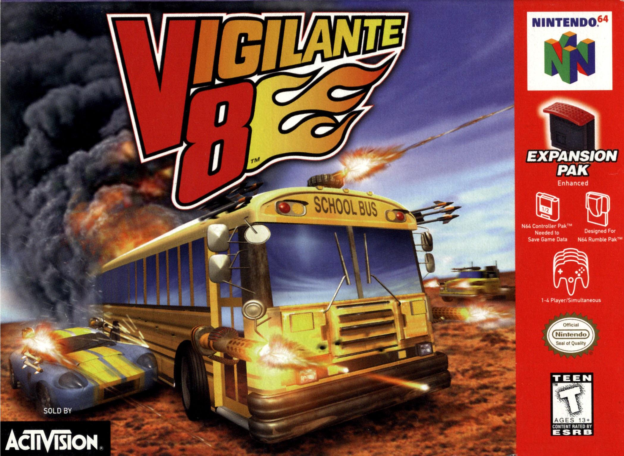 Vigilante Car Game