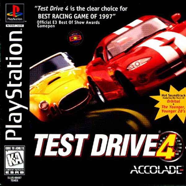 Test Drive 4 Sony Playstation