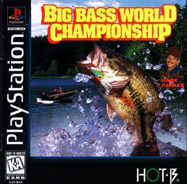 Big Bass World Championship Sony Playstation