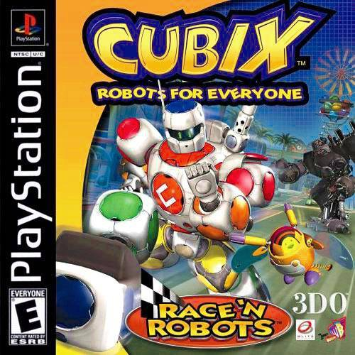 Cubix Robots For Everyone Race N Robots Sony Playstation
