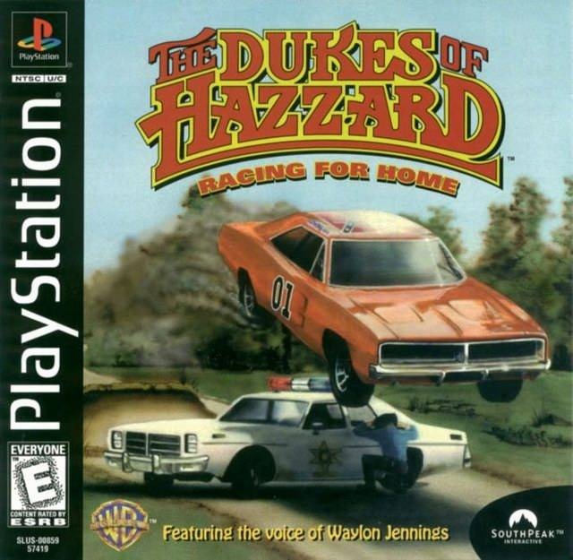Dukes Of Hazzard Racing For Home Sony Playstation