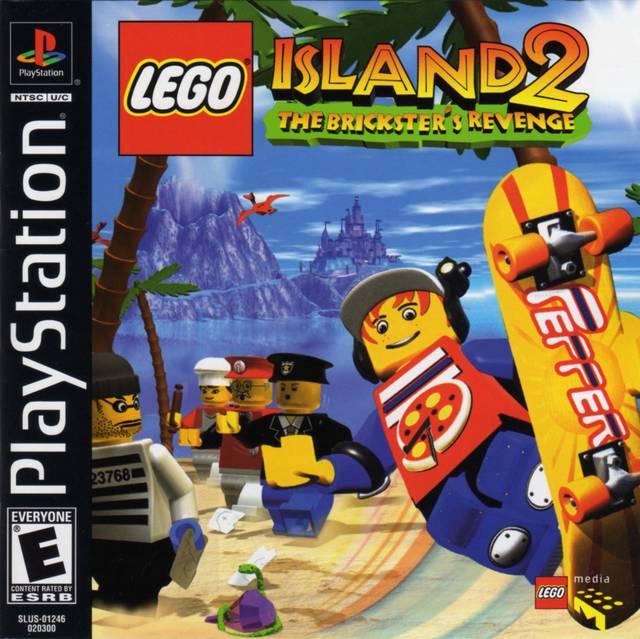 lego island 2 sony playstation