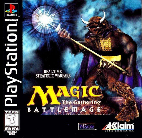 Magic The Gathering Battlemage Sony Playstation