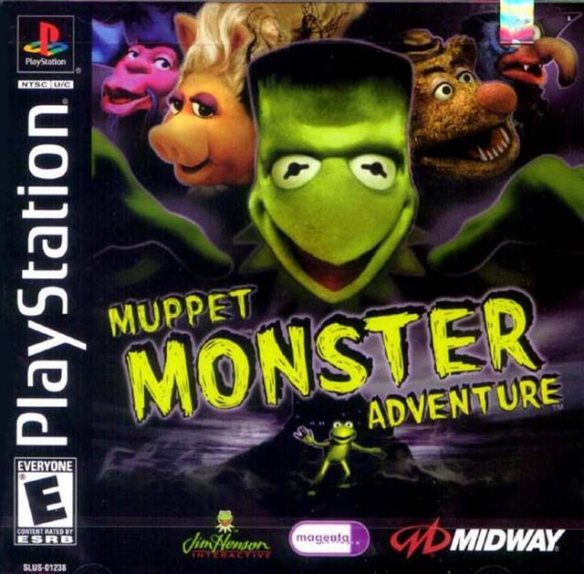 Muppet Monster Adventure Sony Playstation