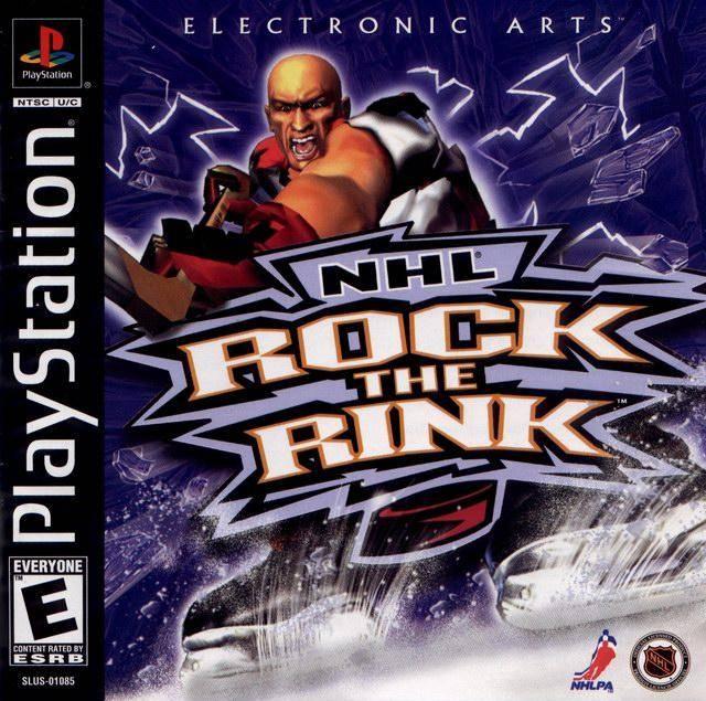 nhl rock the rink sony playstation