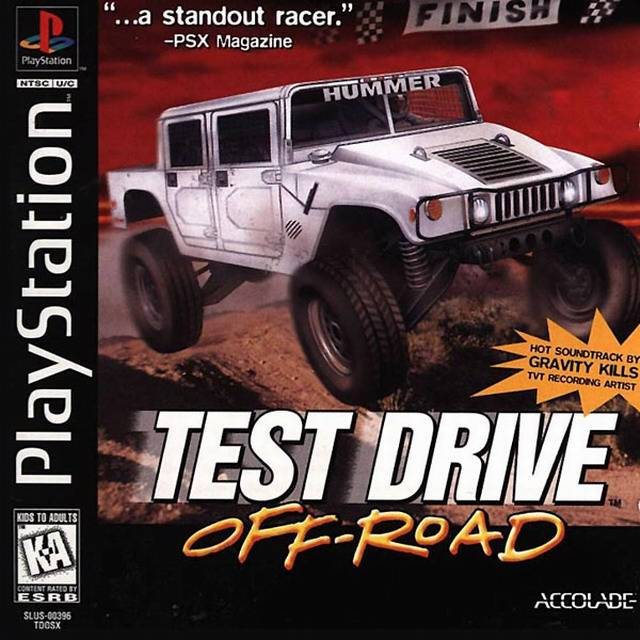 test drive off road sony playstation